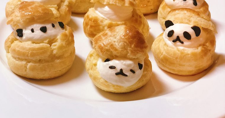 Cute Animal Cream Puffs
