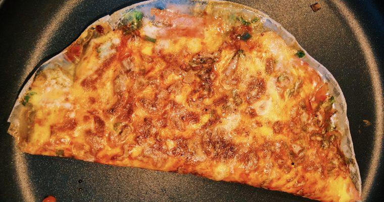Vietnamese Pizza (Banh Trang Nuong)