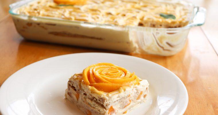 Mango Float (No-Bake Filipino Mango Icebox Cake)